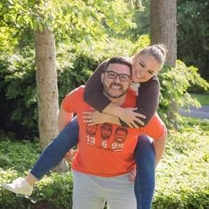 Lindsay and Carl Caltrona